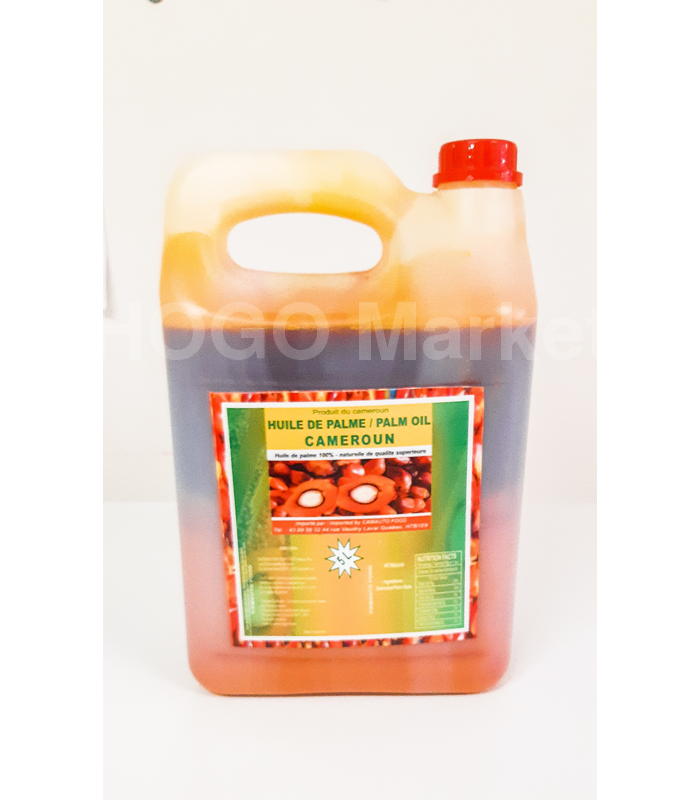 Red oil carton of 5L