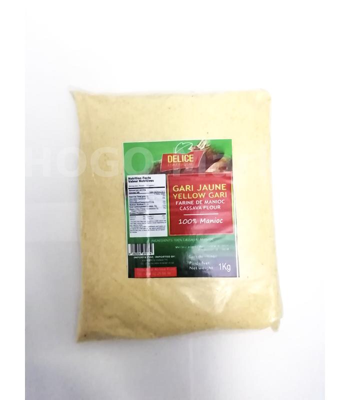 Yellow Gari - Tapioca 1kg